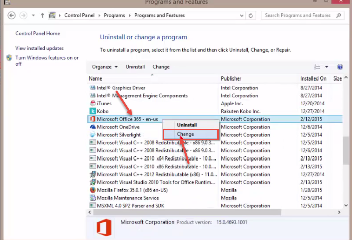 how to change name in microsoft outlook