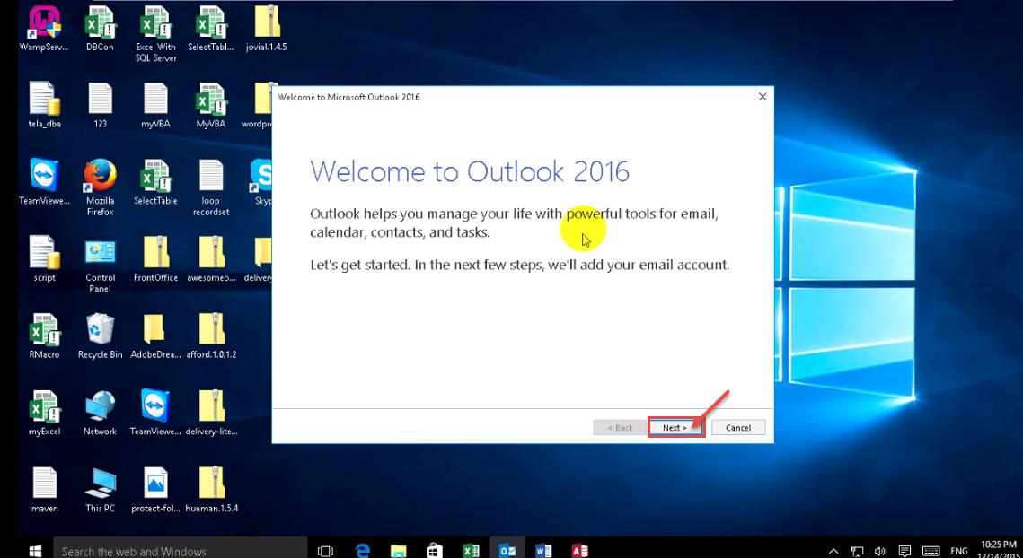 how to create an email group in outlook 2016