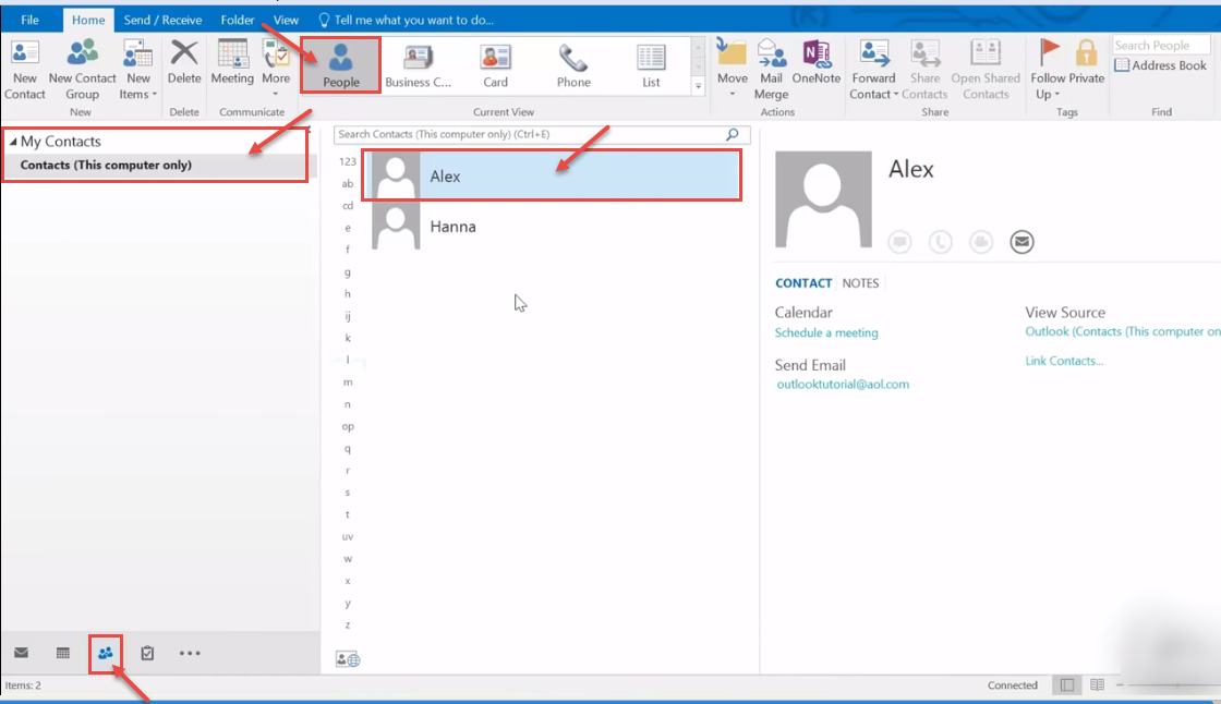 How to set schedule in Microsoft Outlook 2016 - Help with ...