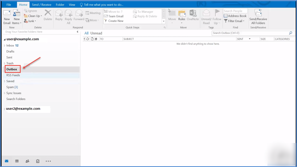 how to delete unsent emails from outlook