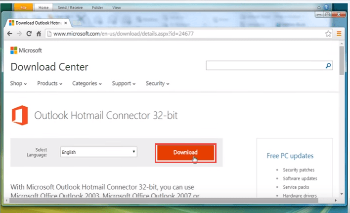 outlook 2010 7 outlook connector