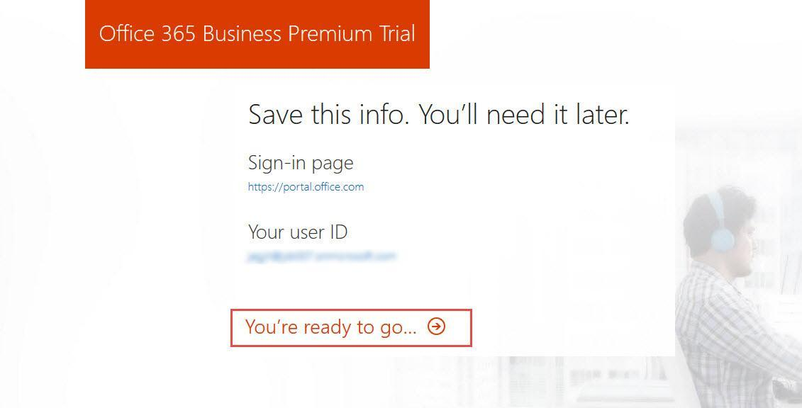 Office 365 8 create admin account ready to go dp tech group - Create an office 365 account ...